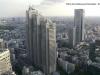 Vedere din Cladirea guvenamentala Tokyo